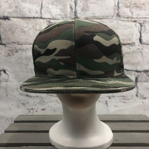 Pit Bull | Camo Fitted Hat